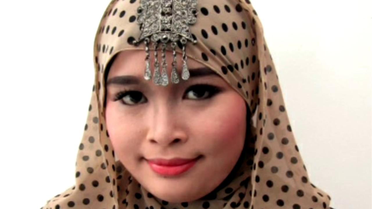 Gorgeous Pashmina With Polkadot Motif YouTube