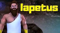Iapetus | Griechische Mythologie | Sage