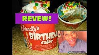Friendly39s Birthday Cake Ice Cream REVIEW Sooooo GOOD