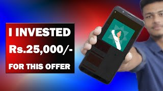 G-Pay GO INDIA Offer All Tricks !! Get Rare Ticket !! Live Investing Rs.25,000 for GO-INDIA Offer !