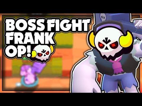 FRANK Is OP In Boss Fight! + Gambling Tickets! - Frank Boss Fight Gameplay! - Brawl Stars