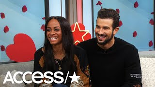 'The Bachelorette's' Rachel Lindsay & Bryan Abasolo Spill Wedding Details! | Access