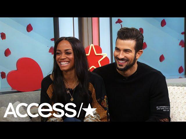 \'The Bachelorette\'s\' Rachel Lindsay & Bryan Abasolo Spill Wedding Details! | Access