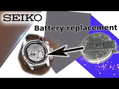 DIY Seiko Solar Battery Replacement