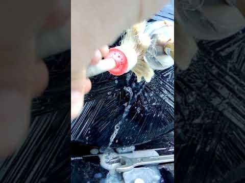 Leakage CNG tank