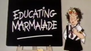 Educating Marmaladeles - Children's ITV continuity - 1984