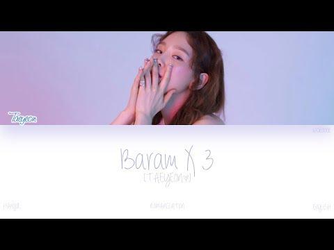 Free Download [han|rom|eng] Taeyeon (태연) - Baram X 3 (바람 바람 바람) (color Coded Lyrics) Mp3 dan Mp4