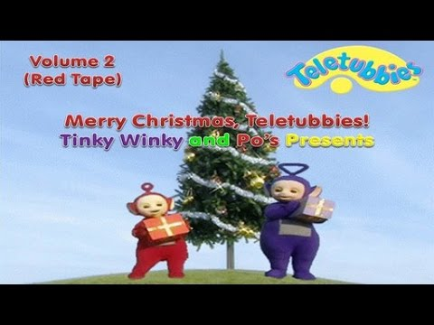 Merry Christmas, Teletubbies! - Volume 2: Tinky Winky and Po's Presents (1999 US VHS)