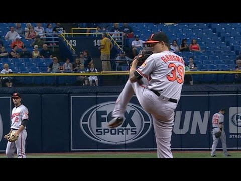 BAL@TB: Gausman fans seven over five strong frames