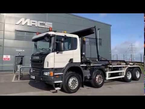 Scania (2015) [65] P410 8 x 4 Rigid 25T VDL Hook Loader