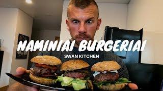 SVEIKUOLIŠKI NAMINIAI BURGERIAI   Swan Kitchen