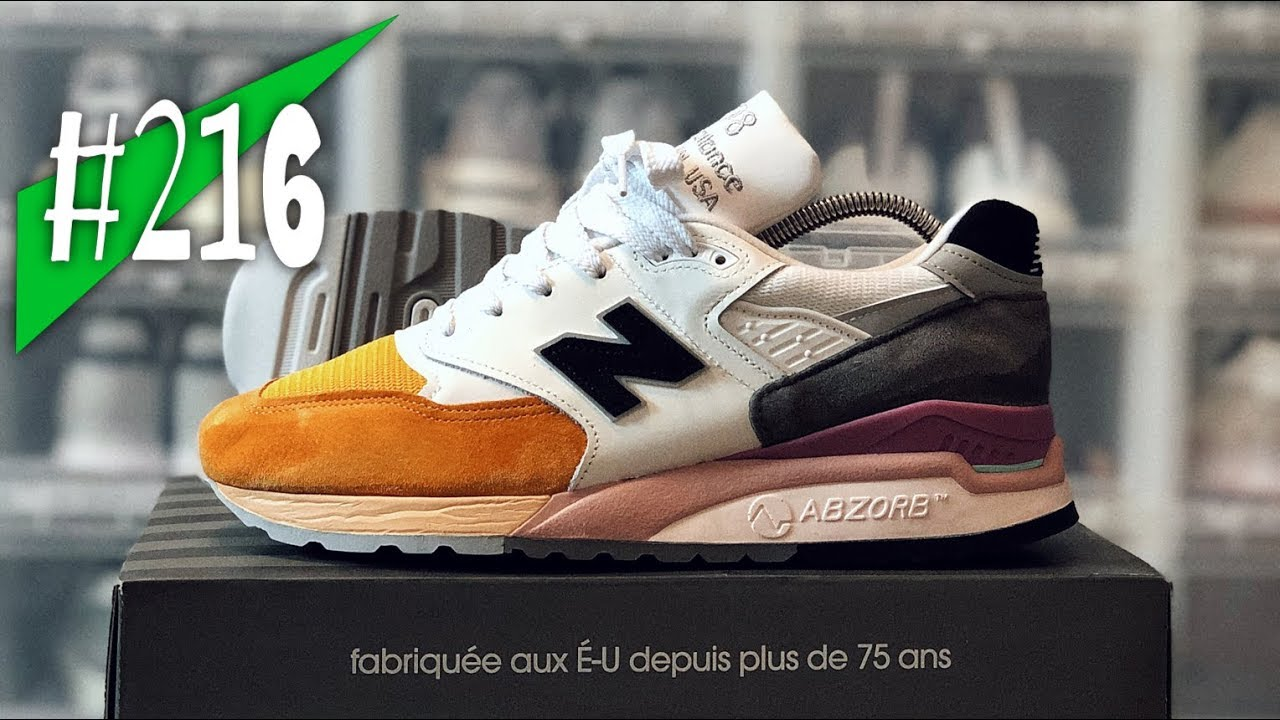 new styles 5c08a 95743 #216 - New Balance M998 PSD - Made in USA - Review/on feet - sneakerkult