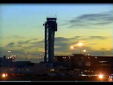 The Final Hours of Stapleton Intl. Airport - TV News Compilation - 1995