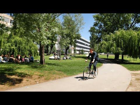 Inauguration opérations Lyon Cité Campus - campus LyonTech-la Doua