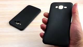 ОБЗОР: Матовый Силиконовый Чехол-Накладка для Samsung Galaxy J7 SM-J700H