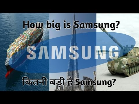 ( Hindi ) Samsung Story | Samsung History | How Big is Samsung?