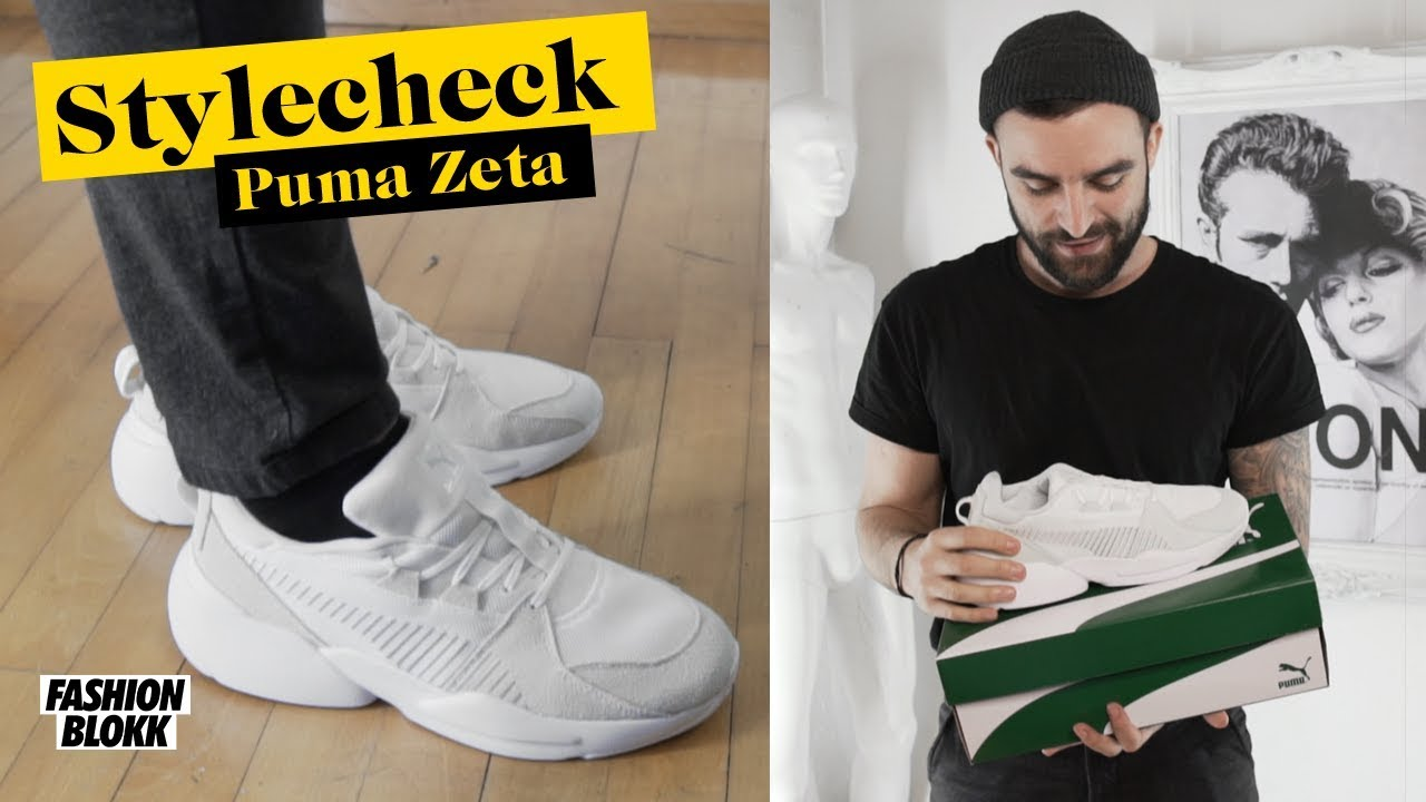 Puma Zeta Suede weiß Ugly Dad Sneaker Unboxing, Review & On Feet