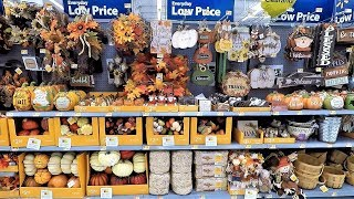 WALMART FALL DECOR - HALLOWEEN DECORATIONS THANKSGIVING SHOPPING HOME DECOR 2018