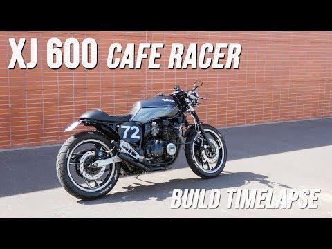 Cafe Racer Timelapse build - Yamaha XJ 600 (FJ 600)