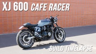 Cafe Racer Timelapse build - Yamaha XJ 600 (FJ 600)