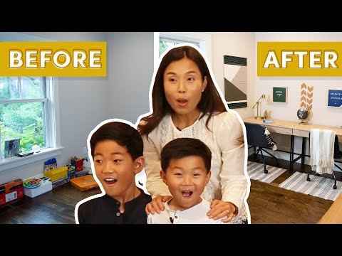 I Gave This Family's Playroom An Extreme Makeover