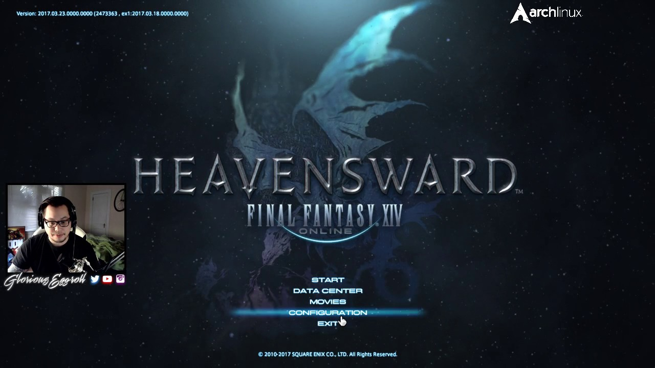 GloriousEggroll's Blog » FFXIV + Arch Linux + wine-staging
