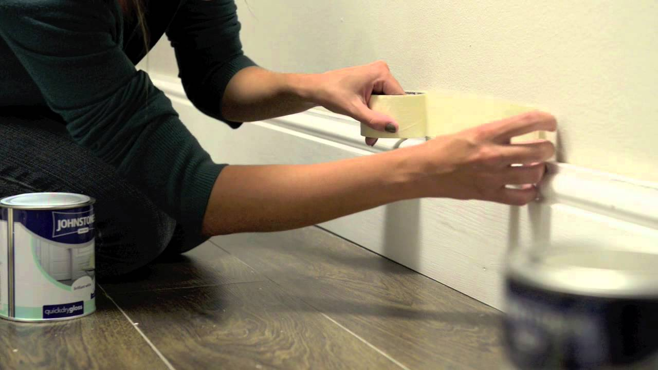 How to paintskirting boards  YouTube