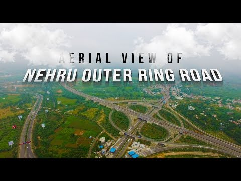 Nehru Outer Ring Road Hyderabad Aerial View 4K Ultra | ORR Drone Full HD