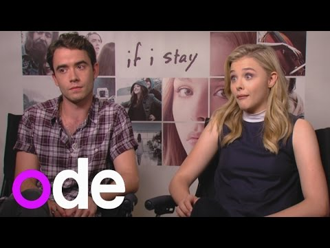 If I Stay: Chloe Grace Moretz and Jamie Blackley talk One Direction and Instagram stalking