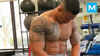 Universal Soldier in Real Life - Military Strength Training with Diamond Ott | Muscle Madness thumbnail
