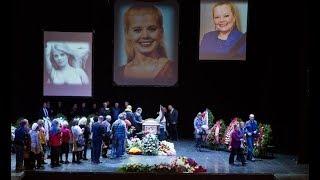 Прощание с Людмилой Сенчиной