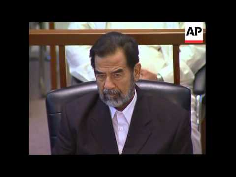 Tariq Aziz testifies as defence witness in Saddam trial