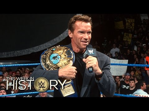 Arnold Schwarzenegger Bei SmackDown: This Week In WWE History — 12. November 2015