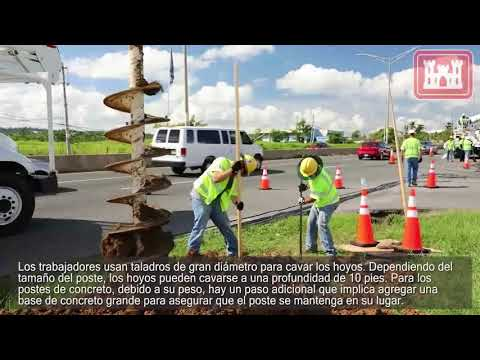 The Pole Story: Restoring the Puerto Rico Power Grid