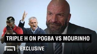 How Triple H would manage the Pogba vs Mourinho row