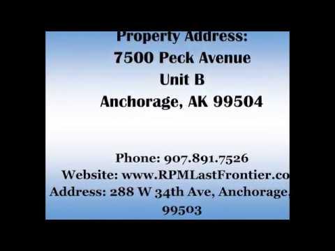 7500 Peck Ave Unit B Anchorage, AK 99504