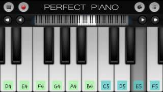 بيانو اغنية في مسلسل موسم الكرز الذي غناها اياد لفتون في عيد ميلادها
