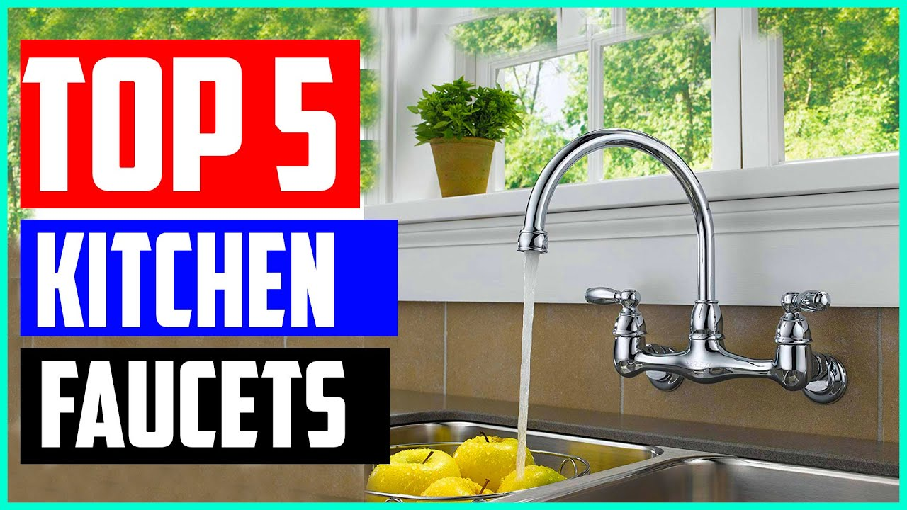 the 5 best wall mount kitchen faucets 2020