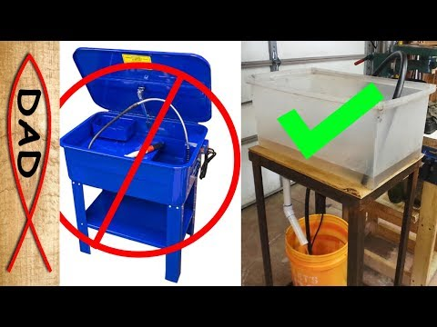 DIY - parts washer for your garage