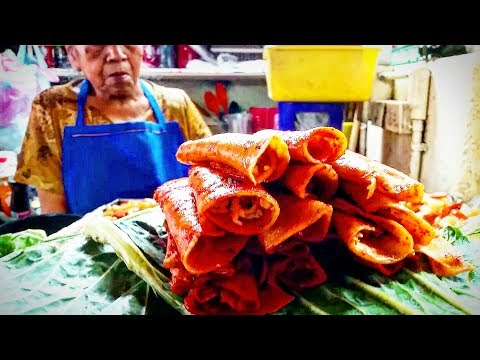MEXICAN STREET FOOD DELICIOUS TACOS ROJOS