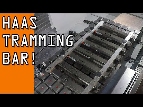 Tramming Bar to Align our HAAS Vises!