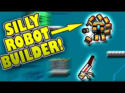 FREE ROBOT BUILDING GAME! - Modular Destruction Labs – Game Jam Build First Look
