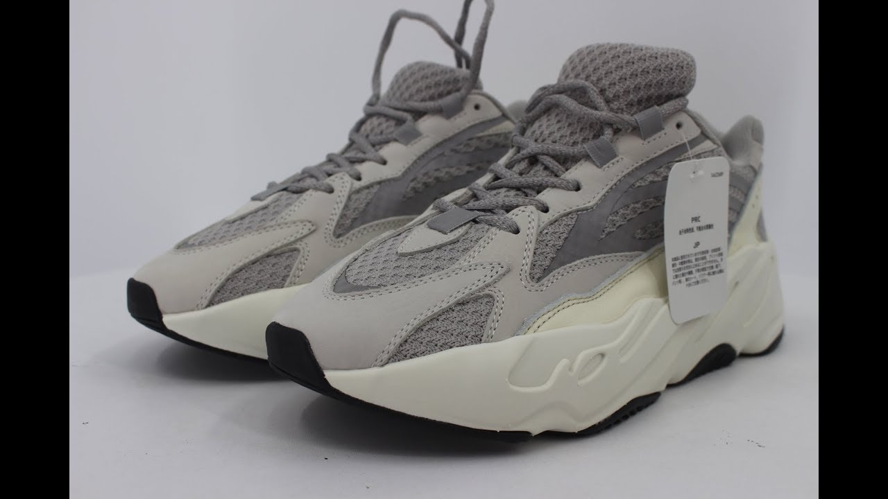 493c6c005f8db Unboxing Review!!! Yeezy Boost 700 V2 Static - YouTube