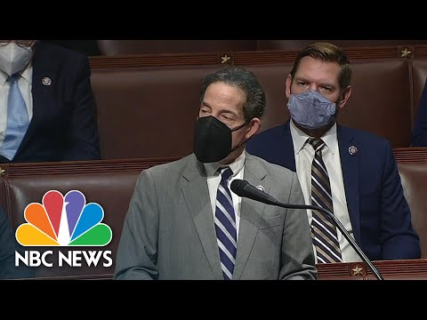 Rep. Raskin Condemns Capitol Riot And Voices Support For Impeachment | NBC News