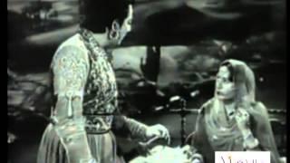 Aaja Aaja Nadiya Kinare by Lata Mangeshkar | Raj Hath (1956)