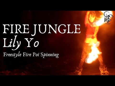 Freestyle Poi Spinning - Lili Yo performance
