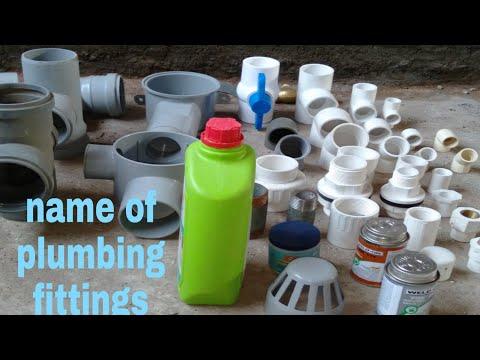 Name Of Plumbing Fittings/materials#plumbing Materials Name