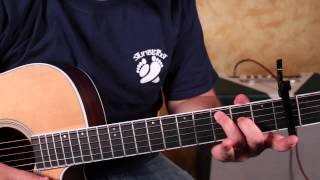 Darius Rucker - Wagon Wheel - Old Crow Medicine Show - How to Play on guitar Easy