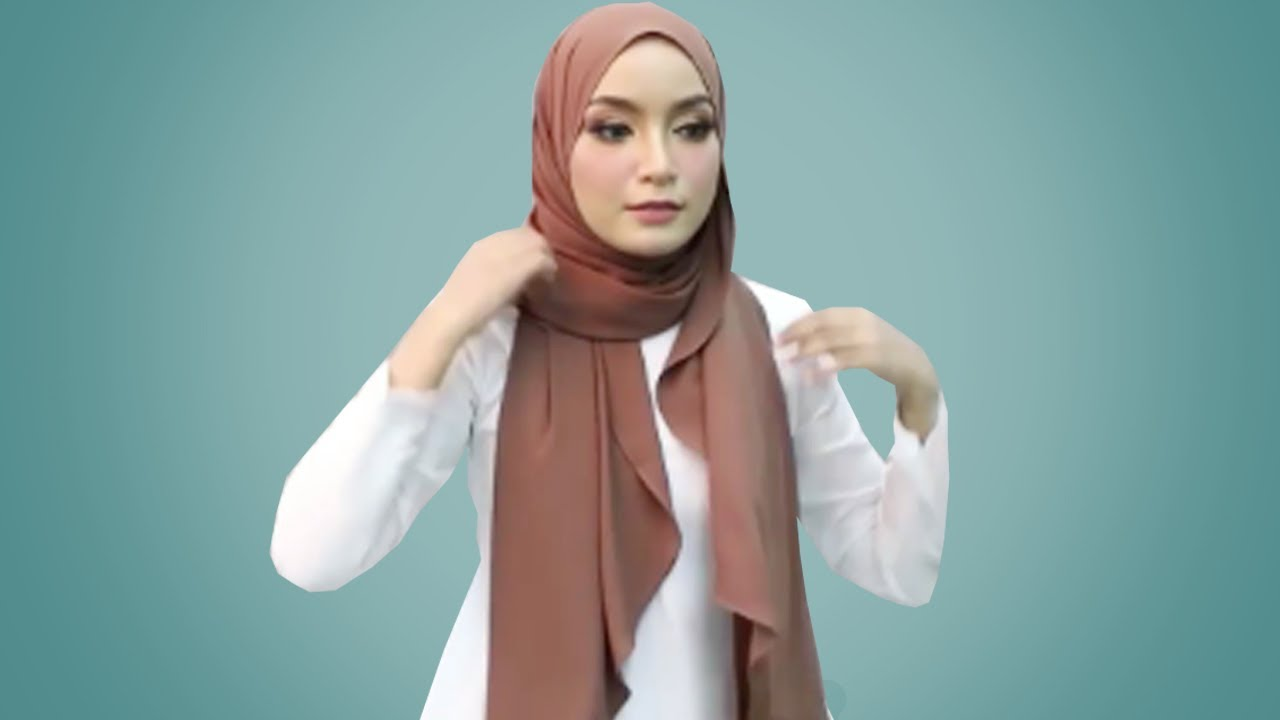 10 Tutorial Hijab Pashmina Simple 2020 Modis Cantik Kekinian Tanpa Ribet Youtube