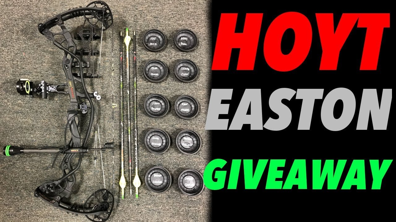 GIVING AWAY A HOYT REDWRX RX1 AND A DOZEN EASTON ARROWS WITH MTN OPS